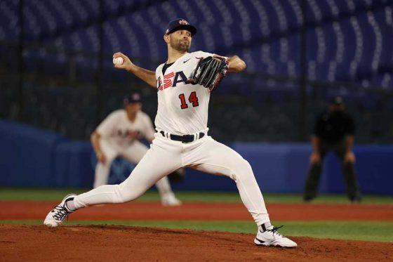 野球米国代表のニック・マルティネス【写真:Getty Images】