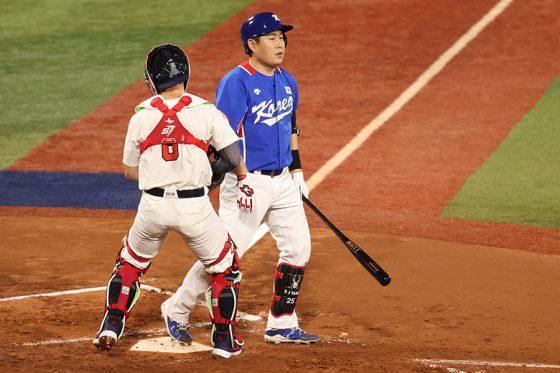 準決勝で敗れた韓国代表、韓国メディアは4番打者の不振を指摘した【写真:Getty Images】