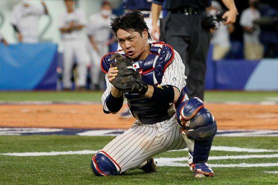 侍ジャパン・甲斐拓也【写真:Getty Images】