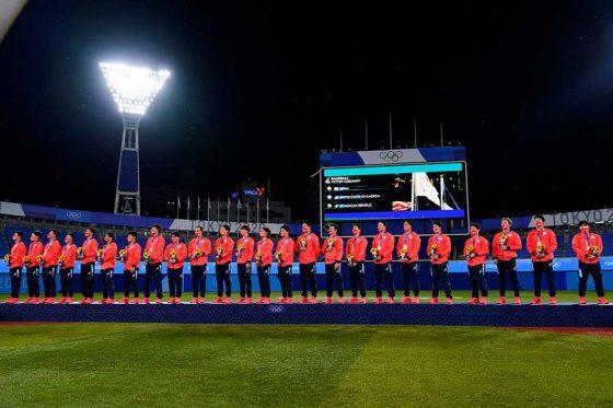 野球・ソフトボールが開催された横浜スタジアム【写真:AP】