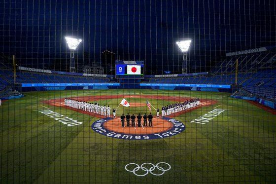 東京五輪・野球競技の会場となった横浜スタジアム【写真:AP】