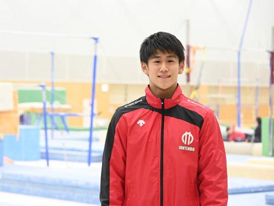 東京五輪男子体操競技日本代表の橋本大輝さん【写真提供:千葉ロッテマリーンズ】