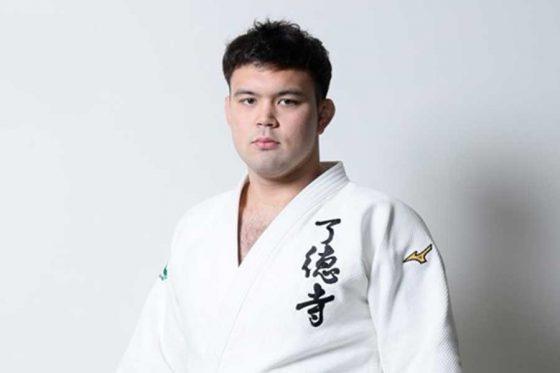 東京五輪柔道男子100キロ級日本代表ウルフ・アロン選手【写真提供:千葉ロッテマリーンズ】