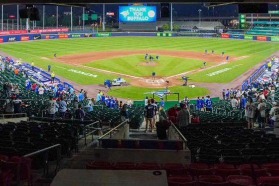 3Aバッファローの本拠地セーレン・フィールド【写真:Getty Images】