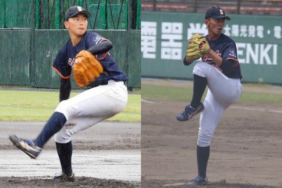 静岡大・石田雄大(左)と井手駿【写真:間淳、学校提供】