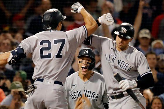 7連勝と勢いに乗るヤンキース【写真:AP】
