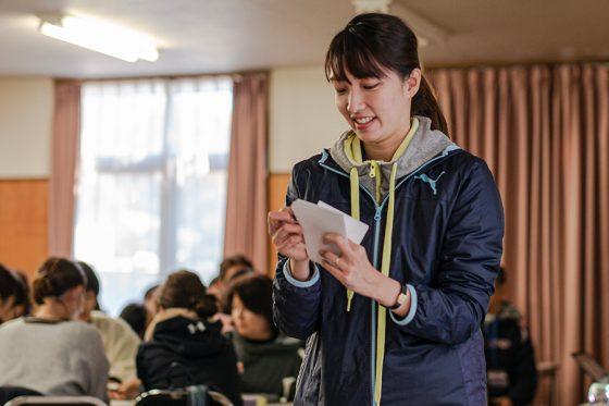 公認スポーツ栄養士の酒井美緒さん【写真提供:(株)スポーツフィールド】