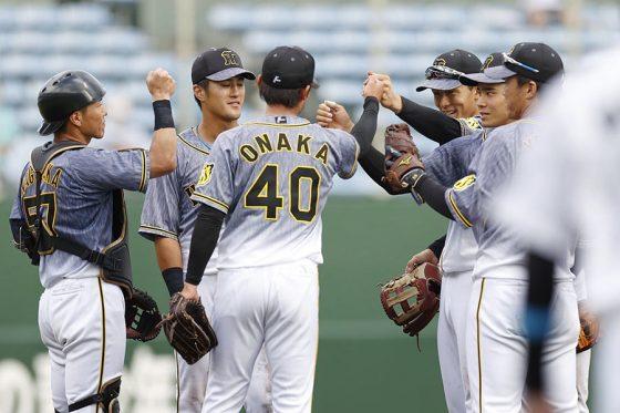 阪神が3年ぶり6度目のファーム日本一に輝いた【写真:共同通信社】