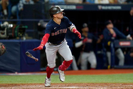 6打数5安打3打点と活躍したレッドソックスのキケ・ヘルナンデス【写真:AP】