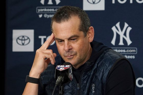 ヤンキースのアーロン・ブーン監督【写真:AP】
